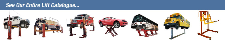 Car Lifts, Truck Lifts, Vehicle Lifts