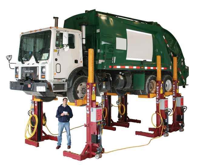 Globe Portable Auto Lift : Mohawk lifts mp series mobile column and above