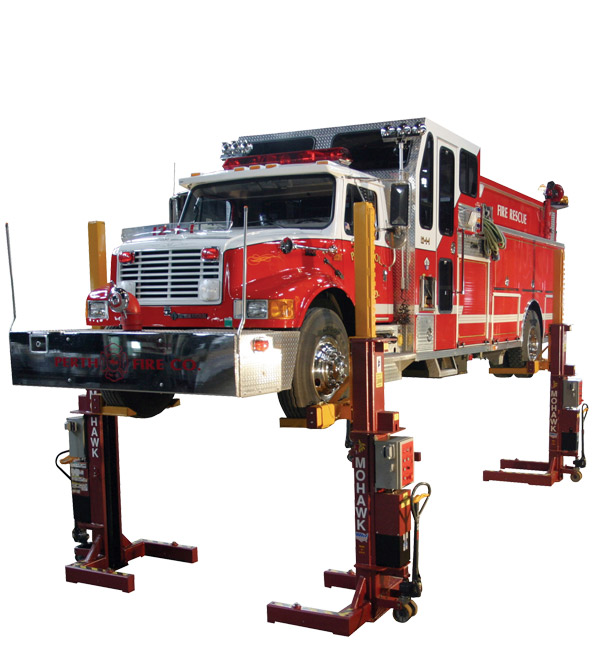Mobile Column Auto Lifts, Bus Lifts and Truck Lifts