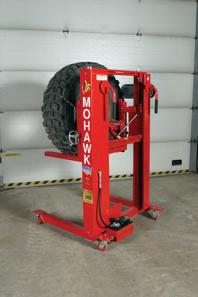 Two Wheel Dolly >> Mohawk Lifts Specialty Lift Accessories, TD-1000 Tire Dolly and more specialty vehicle lift ...