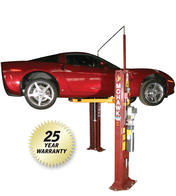 Model A-7: Purchase 2 Post Car Lifts, Two Post Truck Lifts