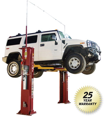 10000 Lb Car Lift >> Two Post Lifts 2 Post Automotive Lifts Two Post Truck Lift 2