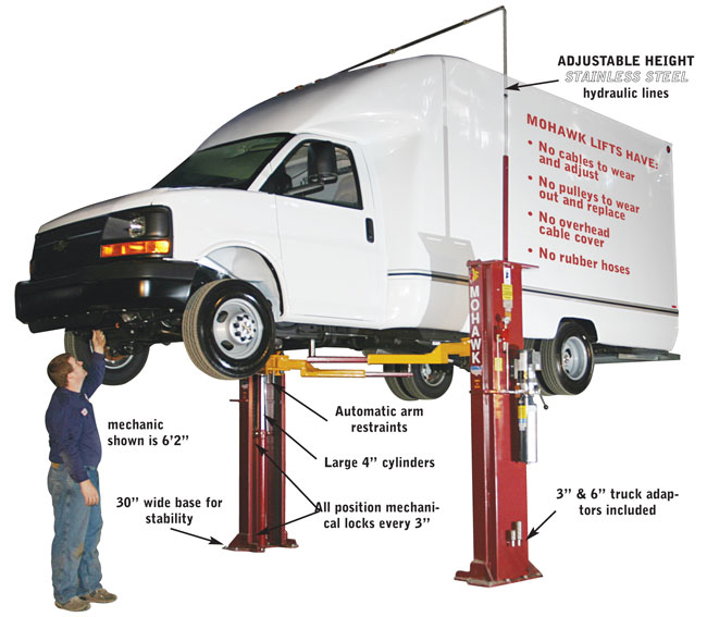Mohawk Lifts System I Buy 2 Post Home Automotive Lifts Two Post