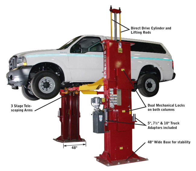 Mohawk Lifts Tp 20 Two Post Car Lift And Automotive Lift