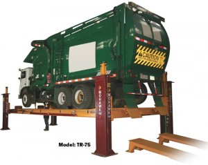 Model TR-75 Four Post Truck Lift