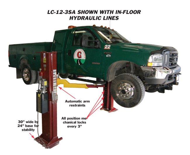 Mohawk Lifts Lc 12 Purchase Two Post Lifts Two Post Automotive
