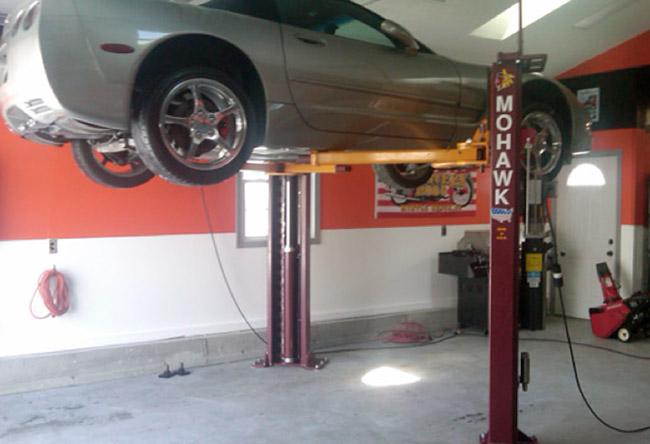 Low Ceiling Car Lift Ceiling Tiles