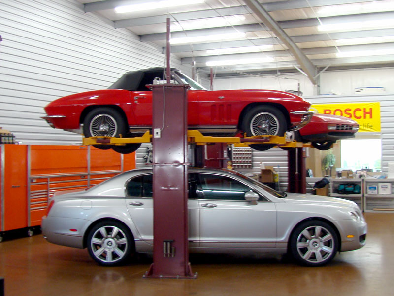 Car Storage Vehicle Service Lifts